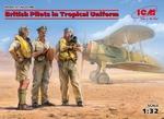 ICM32106  British Pilots in Tropical Uniform (1939-1943)