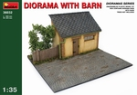 MA36032  Diorama With  Barn