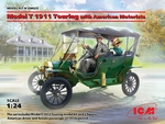 ICM24025  Model T 1911 Touring with American Motorists
