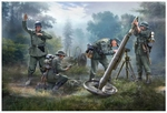 ZV6268  German 120mm Mortar with Crew
