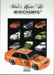 Catalogus Minichamps 2003 *