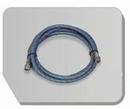 BD24-300  Airbrush slang zwart 300 cm -1/8 bi - 1/8 bi