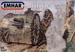 EM3502  WWI British Artillery with 18 Pdr Gun Emhar 3502