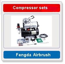 Aibrush compressor sets