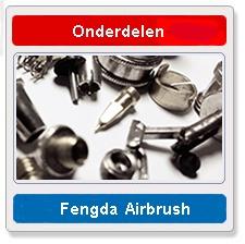 Airbrush onderdelen