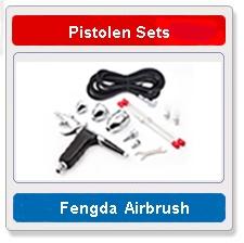 Airbrush pistolen sets